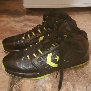 Men's Converse leather high top sneakers 9.5